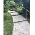 Rampe d'escalier sur poteaux, en kit, en inox 304 brossé 21