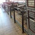 Garde corps terrasse acier design en kit 6 lisses et main courante 5