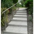 Rampe d'escalier sur poteaux, en kit, en inox 304 brossé 12