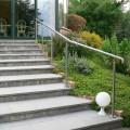 Rampe d'escalier sur poteaux, en kit, en inox 304 brossé 11