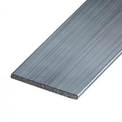 Profilé plat aluminium brut 30 x 10 mm longueur 1 mètre