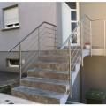 Garde corps inox en kit 5 barres à l'anglaise : rampe escalier, terrasse, balcon, mezzanine 14