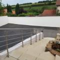 Garde corps à 5 barres en inox en kit à la française : rampe escalier, terrasse, balcon, mezzanine 17