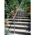 Rampe d'accès inox en kit avec BAGUE pour escalier, terrasse ou plateforme : qualité et prix ! 4