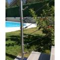 Emboût serre-câble et tendeur en inox pour câble diamètre 4 mm pour poteau rond ou plat 3