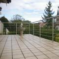 Garde corps à 5 barres en inox en kit à la française : rampe escalier, terrasse, balcon, mezzanine 38