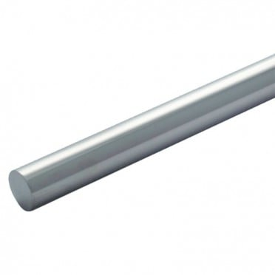 Lisse de garde corps inox longueur 2,5 METRES diamètre 12 mm en inox 304 massif (plein) brossé grain 220