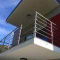 Garde corps à 5 barres en inox en kit à la française : rampe escalier, terrasse, balcon, mezzanine 46