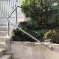 Rampe d'escalier sur poteaux, en kit, en inox 304 brossé 27