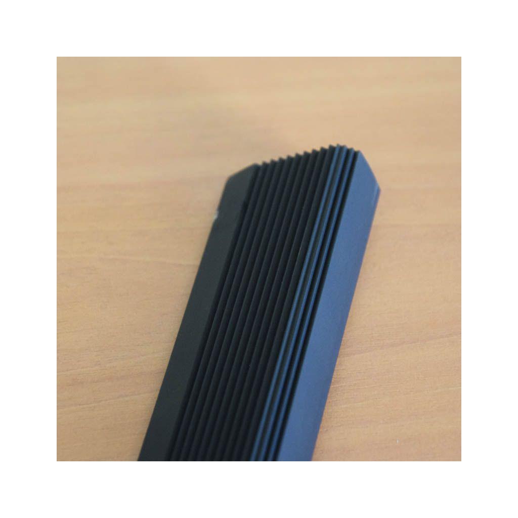 nez de marche xl antid rapant couleur noir longueur 2 m. Black Bedroom Furniture Sets. Home Design Ideas