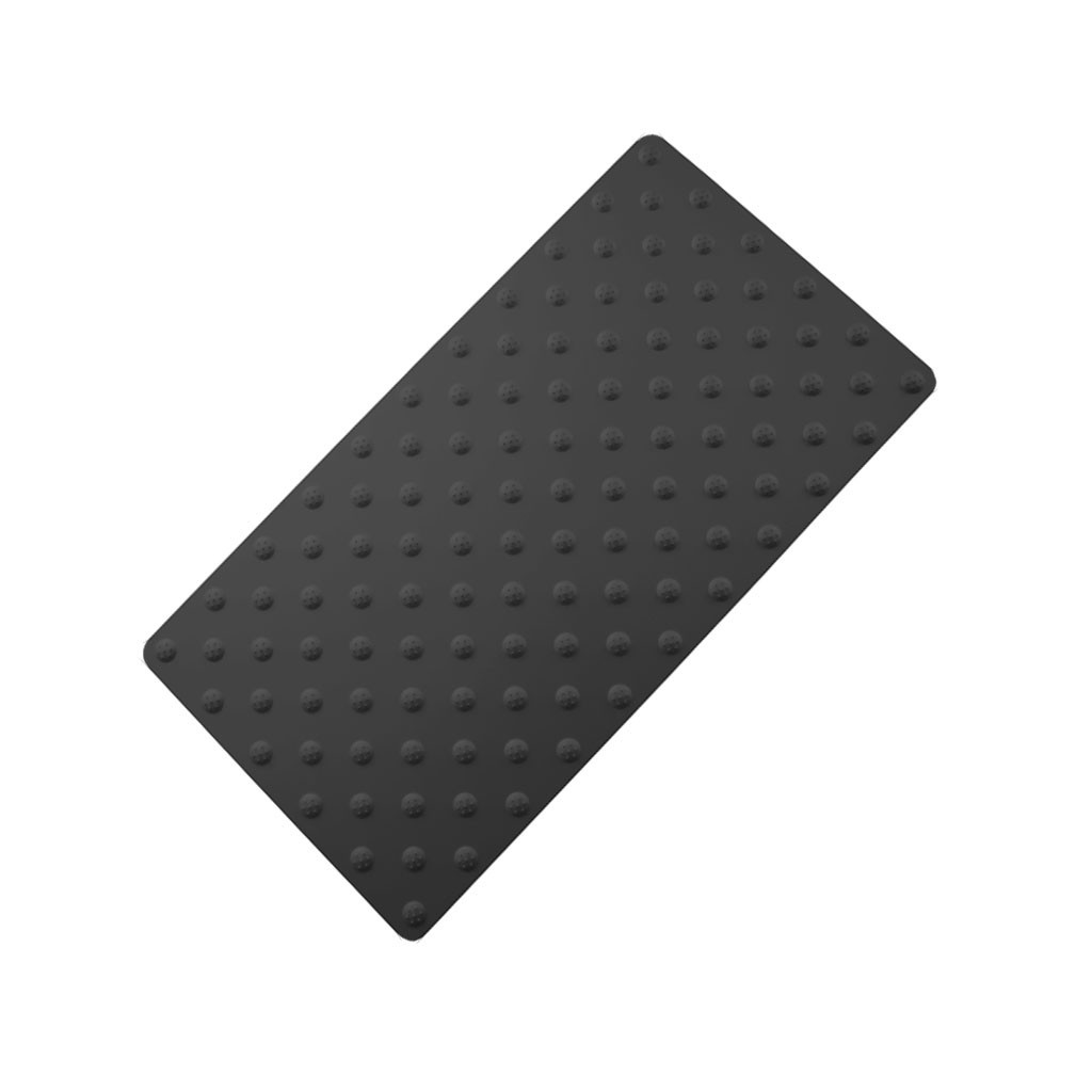 tapis podotactile aluminium couleur noir sur mesure. Black Bedroom Furniture Sets. Home Design Ideas