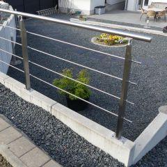 garde corps inox en kit pour terrasse rambardes et rampes. Black Bedroom Furniture Sets. Home Design Ideas
