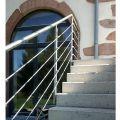 Garde corps inox en kit 5 barres à l'anglaise : rampe escalier, terrasse, balcon, mezzanine 24