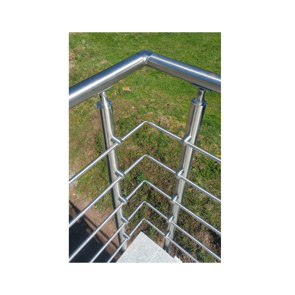 Top Garde Corps Inox En Kit Barres Luanglaise Rampe Escalier Terrasse With Terrasse  Metallique En Kit