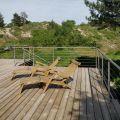 Garde corps à câbles en inox en kit à la française : terrasse, balcon, mezzanine 27
