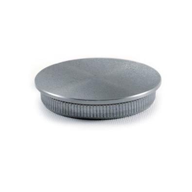 Bouchon en acier galvanisé pour tube rond acier ø42,4 x 2 mm, à frapper