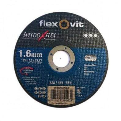 Disque à tronçonner l'inox diamètre 126 mm epaisseur 1,6 mm - professionnel