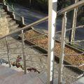 Garde corps inox en kit 5 BARRES à la française : rampe escalier, terrasse, balcon, mezzanine 21