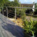 Garde corps inox en kit 5 BARRES à la française : rampe escalier, terrasse, balcon, mezzanine 7