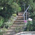 Rampe d'escalier sur poteaux, en kit, en inox 304 brossé 24