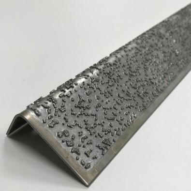 Nez de marche ULTRA STRONG antidérapant INOX 304 BRUT longueur 1,5 mètre