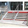 Contremarche aluminium 100 x 2000 mm GRIS recoupable 2