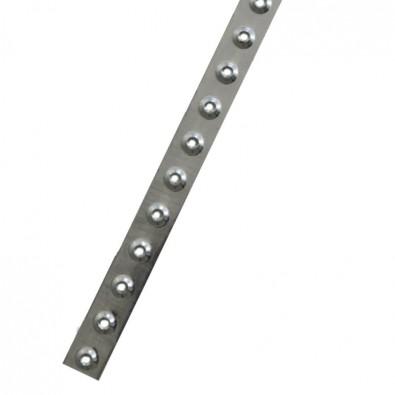 Traverse antidérapante profil à picots interieur / exterieur inox 304 brossé