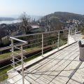 Garde corps à 5 barres en inox en kit à la française : rampe escalier, terrasse, balcon, mezzanine 10