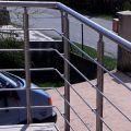 Garde corps inox en kit 5 barres à l'anglaise : rampe escalier, terrasse, balcon, mezzanine 47