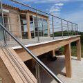 Garde corps inox en kit 5 BARRES à la française : pour terrasse, balcon ou mezzanine 7