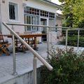 Garde corps inox en kit à câbles à la française : terrasse, balcon, mezzanine 40