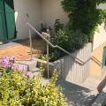 Rampe d'escalier sur poteaux, en kit, en inox 304 brossé 9