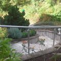 Main courante inox pose latérale sur muret en kit 5