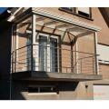 Garde corps inox en kit 5 BARRES à la française : rampe escalier, terrasse, balcon, mezzanine 39