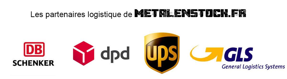 Partenaires logistique de Metanenstock.fr